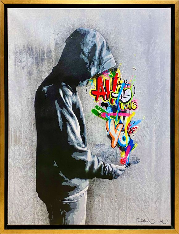 "Martin Whatson ""Connection"" Artwork on canvas"